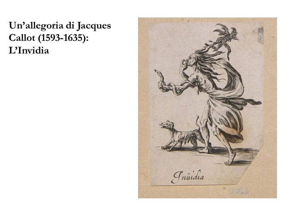 Unallegoria di Jacques Callot (1593-1635): LInvidia