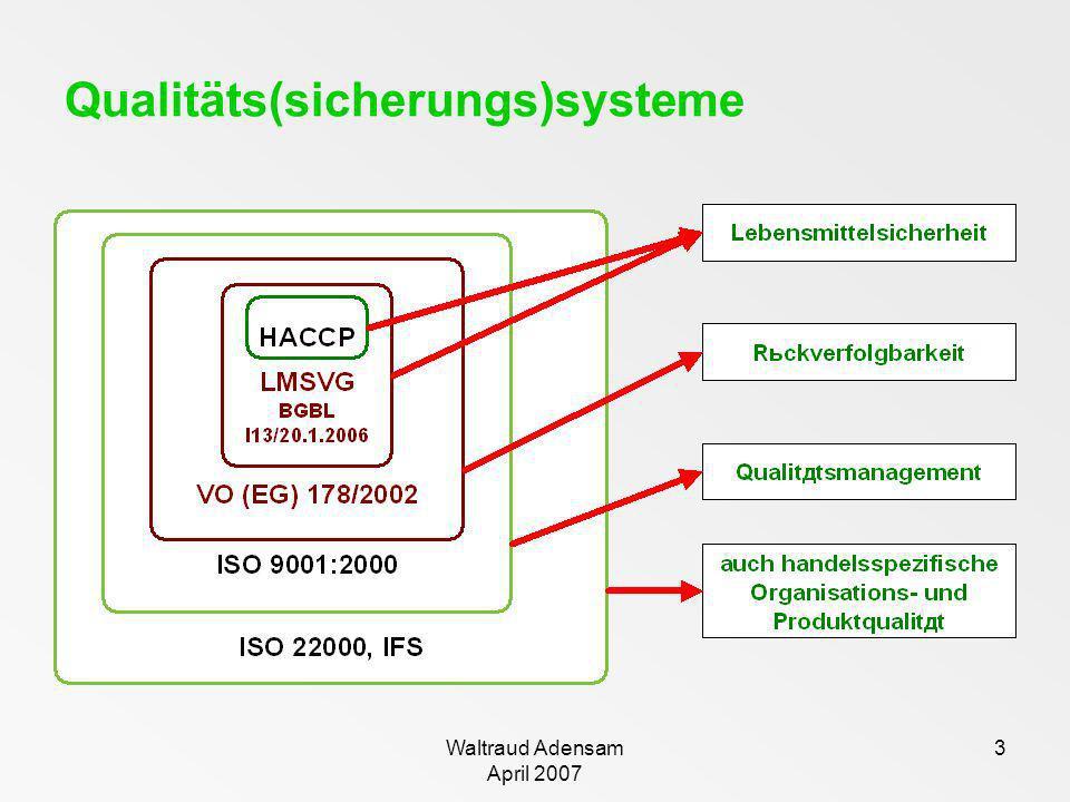 3 Qualitäts(sicherungs)systeme