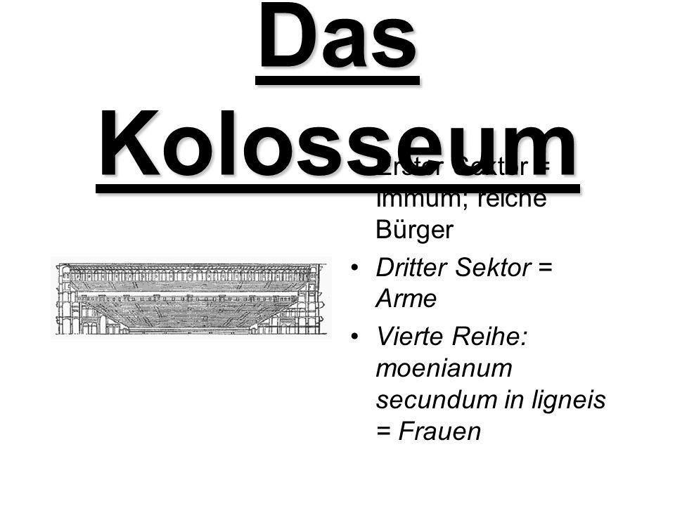 Das Kolosseum Arena: Ellipsenförmig 156m breit, 188m lang, 48m hoch, 527m Umfang