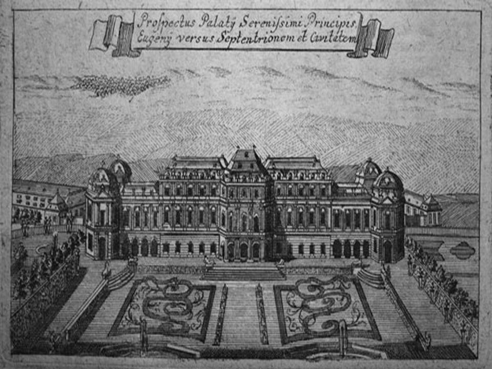Garten Der Garten ist der älteste Teil der Anlage, er wurde schon knapp nach dem Grundstückskauf um 1700 vom Le Nôtre-Schüler Dominique Girard angeleg