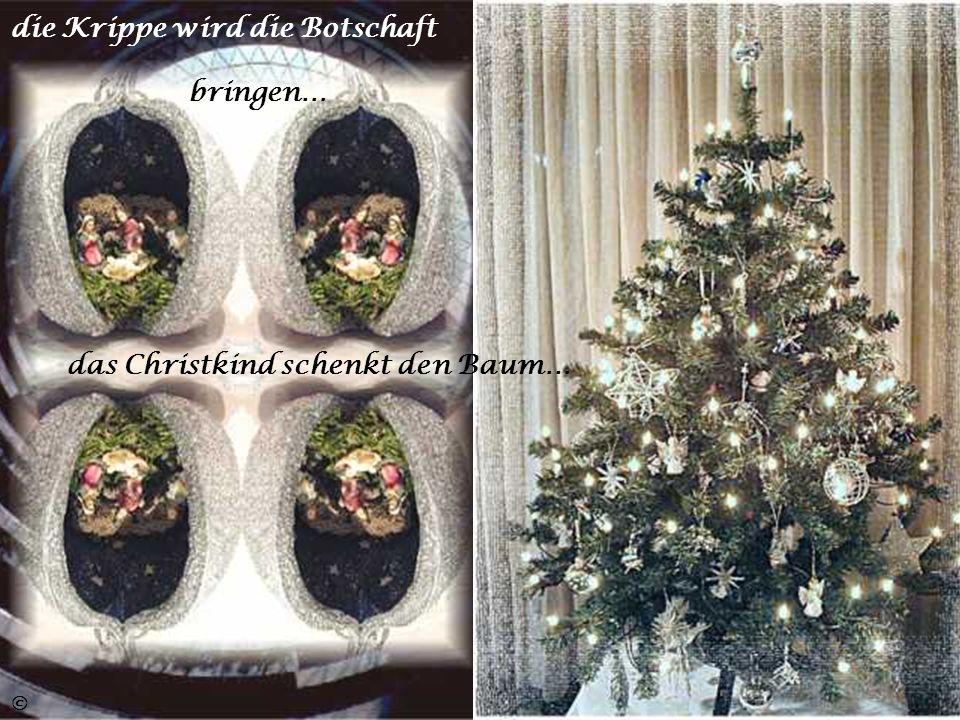 Die Englein Weihnachtslieder singen… ©