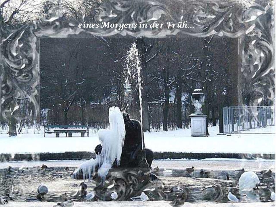 Bach und Fluss haucht König Winter nun zu Eis… ©