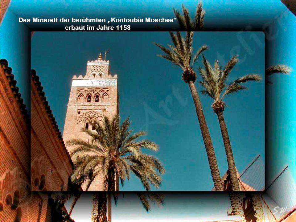 Djemaa el Fna– der Platz der Geköpften – heute der Marktplatz