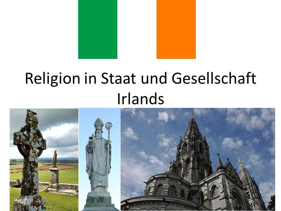 Religion in Staat und Gesellschaft Irlands