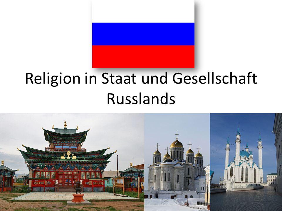 Russland – welche Religionen gibt es.