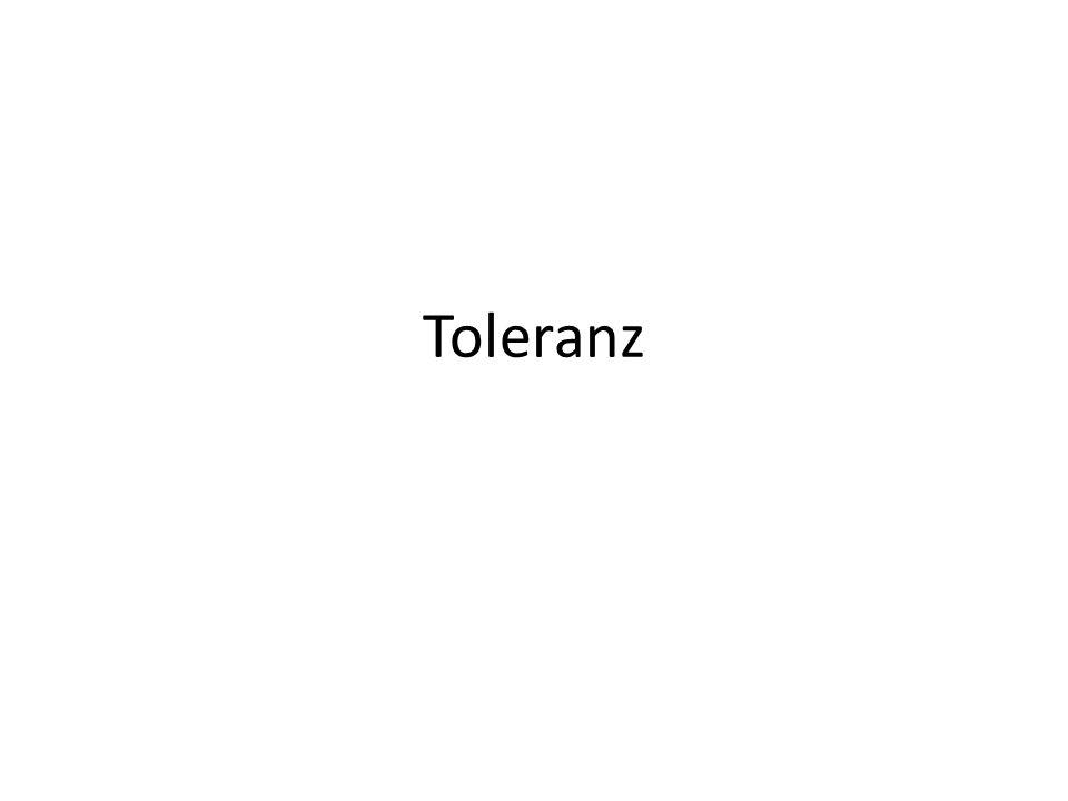 Toleranz bedeutet Respekt, Akzeptanz und Anerkennung der Kulturen unserer Welt, unserer Ausdrucksformen und Gestaltungsweisen unseres Menschseins in all ihrem Reichtum und ihrer Vielfalt.