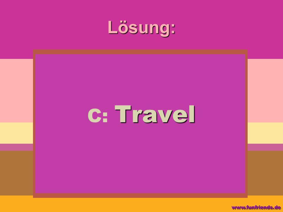 Lösung: Travel C: Travel