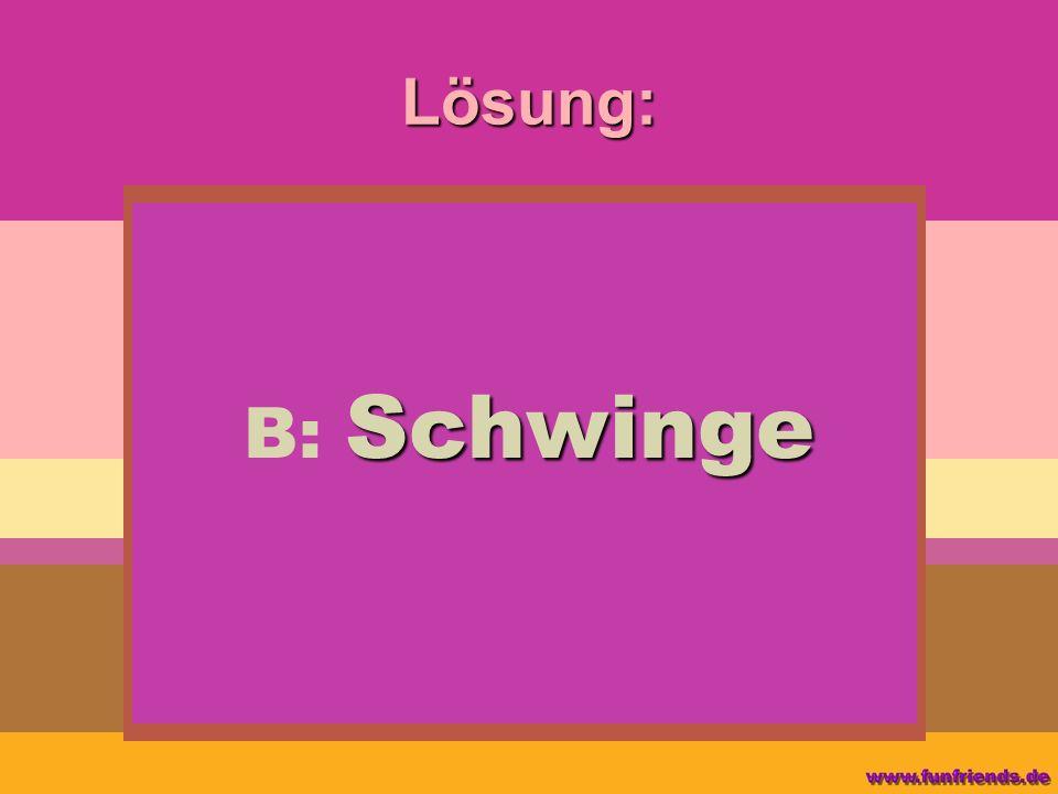 Lösung: Schwinge B: Schwinge