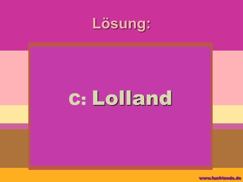 Lösung: Lolland C: Lolland