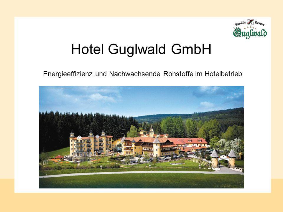 Hotel Guglwald GmbH Energieeffizienz und Nachwachsende Rohstoffe im Hotelbetrieb