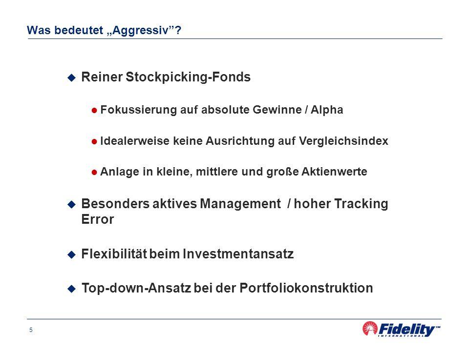 FF European Aggressive Fund Positionierung am 31.12.2005