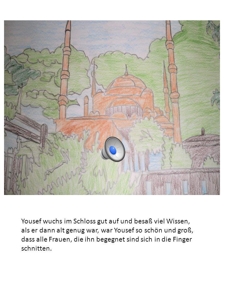 Yousefs neues Zuhause Der Mann der den kleinen Yousef aus dem Brunnen mit einem Wassereimer hochzog, bewunderte seine Schönheit und hatte vor, ihn in