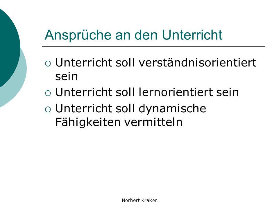 Norbert Kraker Know-how-Entwicklung Erstellung Anwendung Evaluierung Adaptierung
