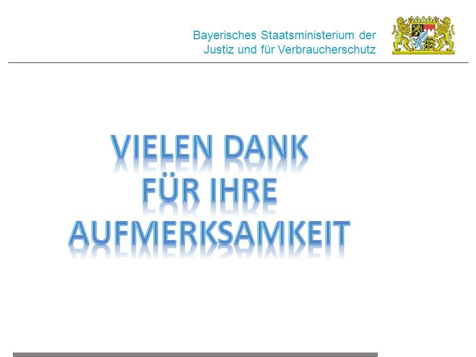Bayerisches Staatsministerium der Justiz und für Verbraucherschutz