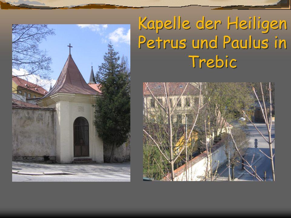 Kapelle der Heiligen Petrus und Paulus in Trebic