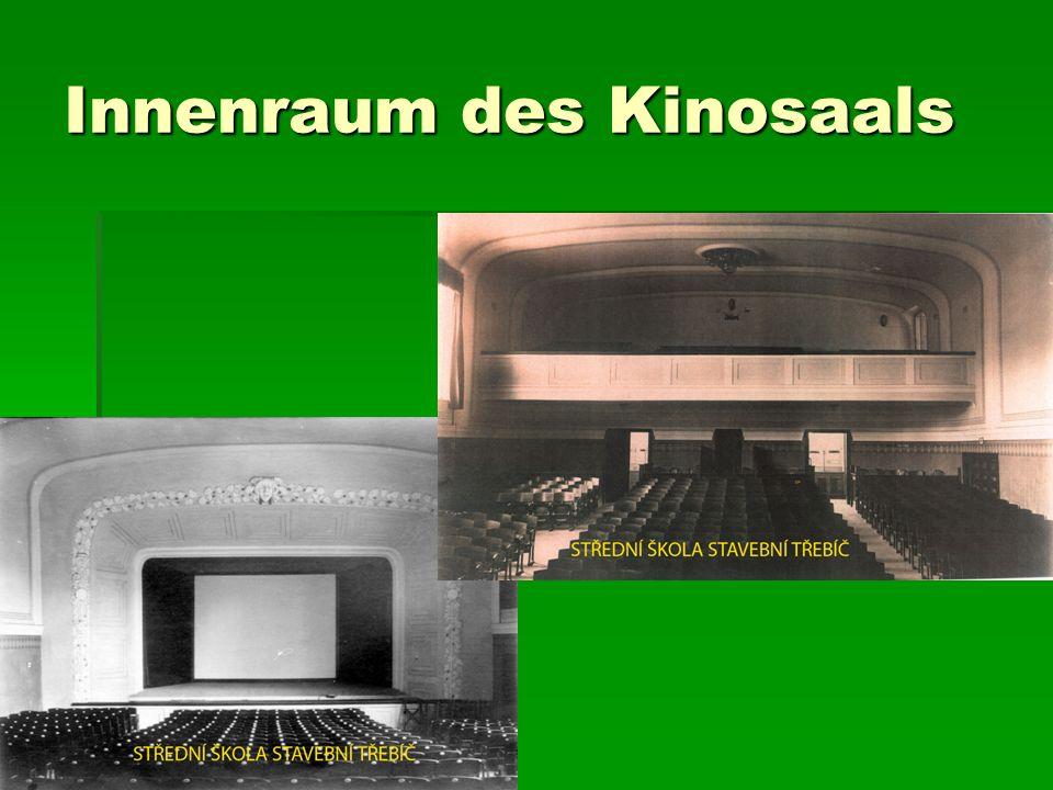 Innenraum des Kinosaals