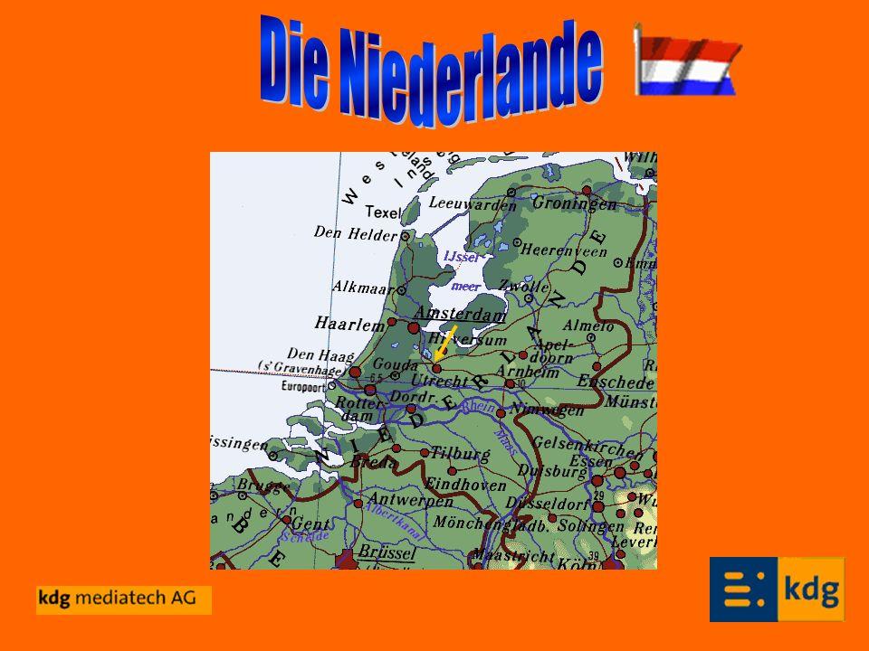 Steckbrief: Die Hauptstadt der Niederlande ist Amsterdam.