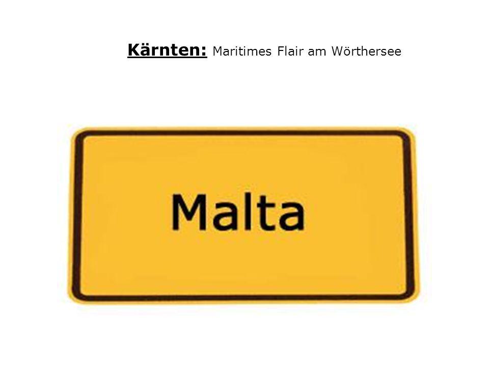 Kärnten: Maritimes Flair am Wörthersee