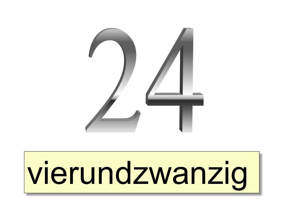 vierundzwanzig