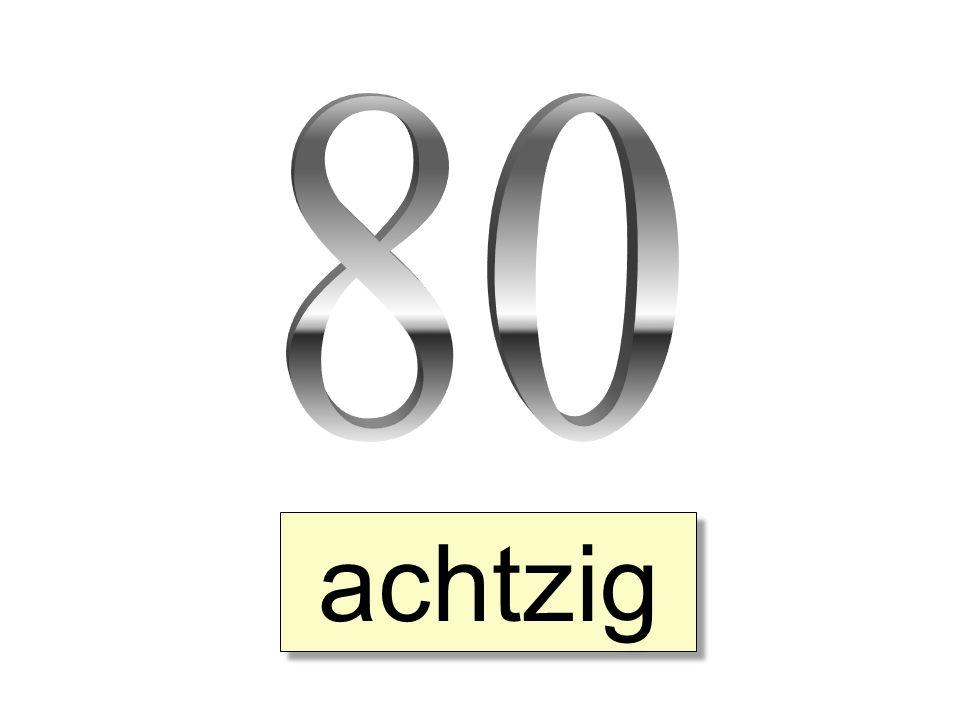 achtzig