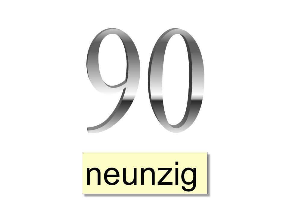 neunzig