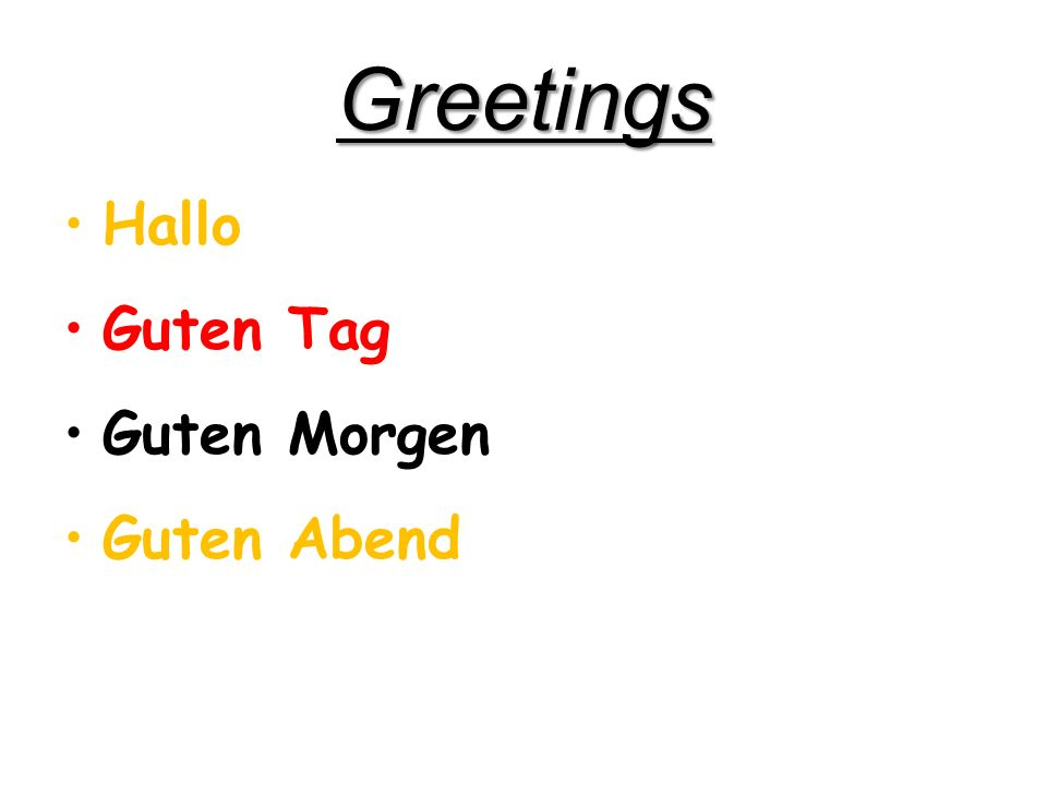 Deutsch: Greetings Dienstag Dezember 13, 2011 Kick Off: Complete pages 3 and 4 in your Unit 1 packet: Wie geht es Ihnen.