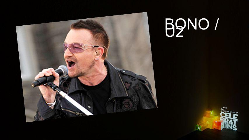 Texteinblender BONO / U2