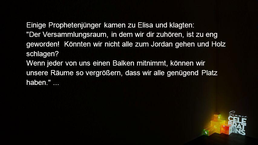 Texteinblender... Geht nur! , antwortete Elisa.