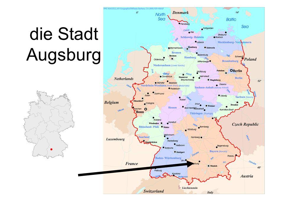 die Stadt Augsburg