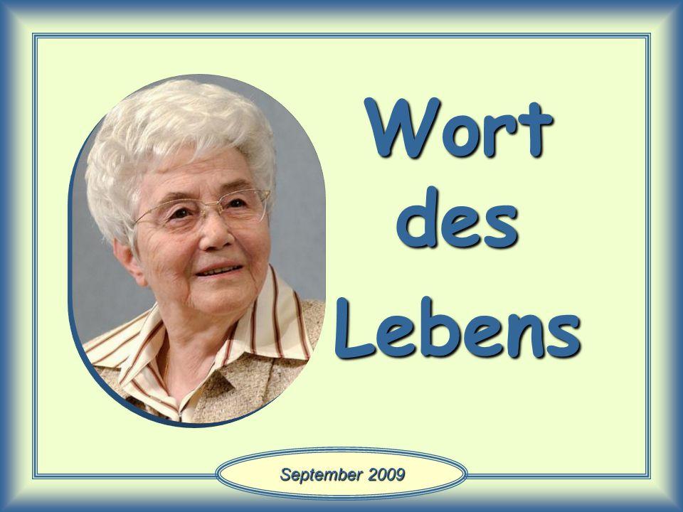 Wort des Lebens September 2009