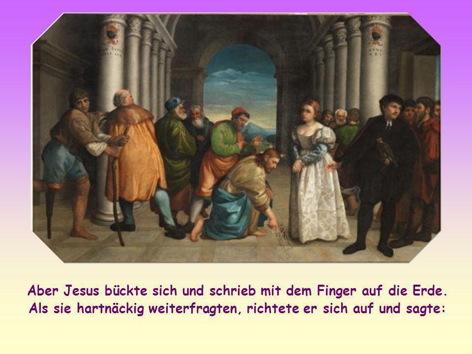 Hätte Jesus das Todesurteil hingegen bestätigt, so wäre er in Widerspruch geraten zu seiner Botschaft von der Barmherzigkeit Gottes gegenüber den Sünd