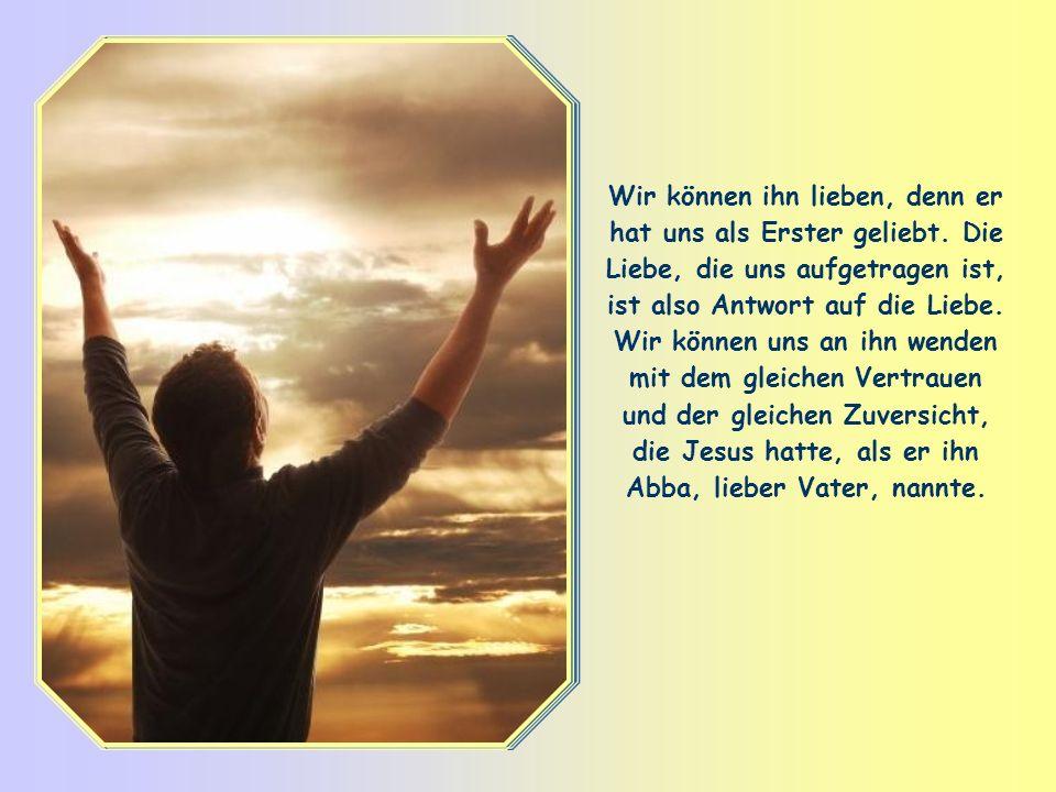 Jesus weiß wie kein anderer, wer dieser Gott wirklich ist: Er ist sein Vater und unser Vater, sein Gott und unser Gott. 1) Er ist ein Gott, der jeden