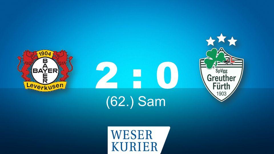 Bochum – KSC 1 : 0 (20.) Rudnevs (66.) Lewandowski (26.