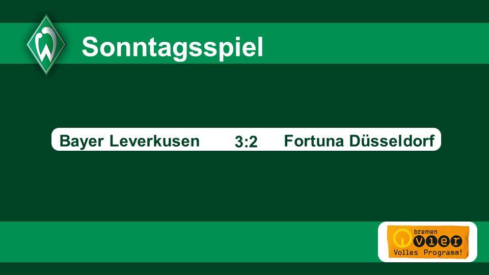 Fortuna Düsseldorf - 3:2 Sonntagsspiel Bayer Leverkusen