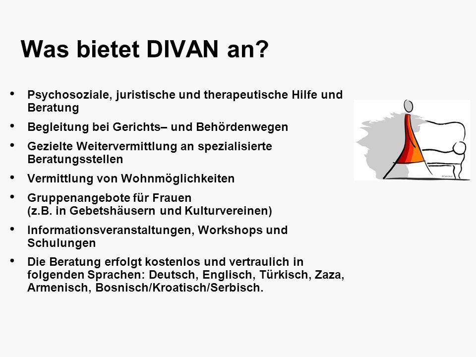 Was bietet DIVAN an.