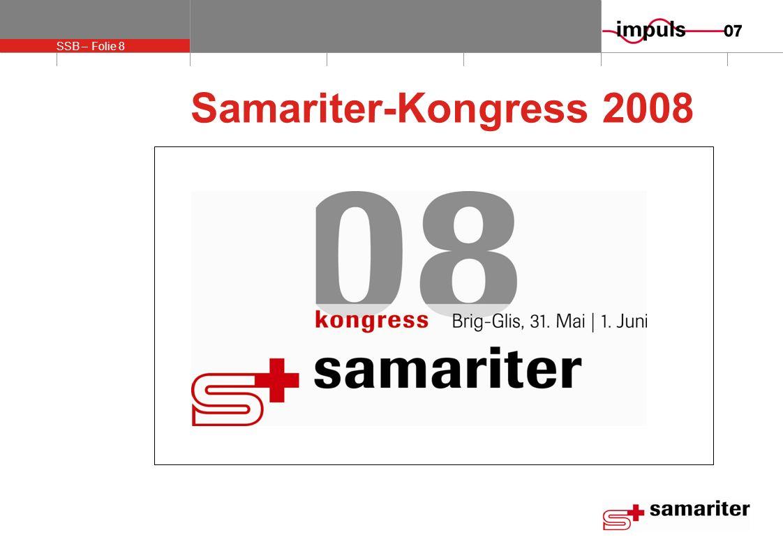 SSB – Folie 8 Samariter-Kongress 2008