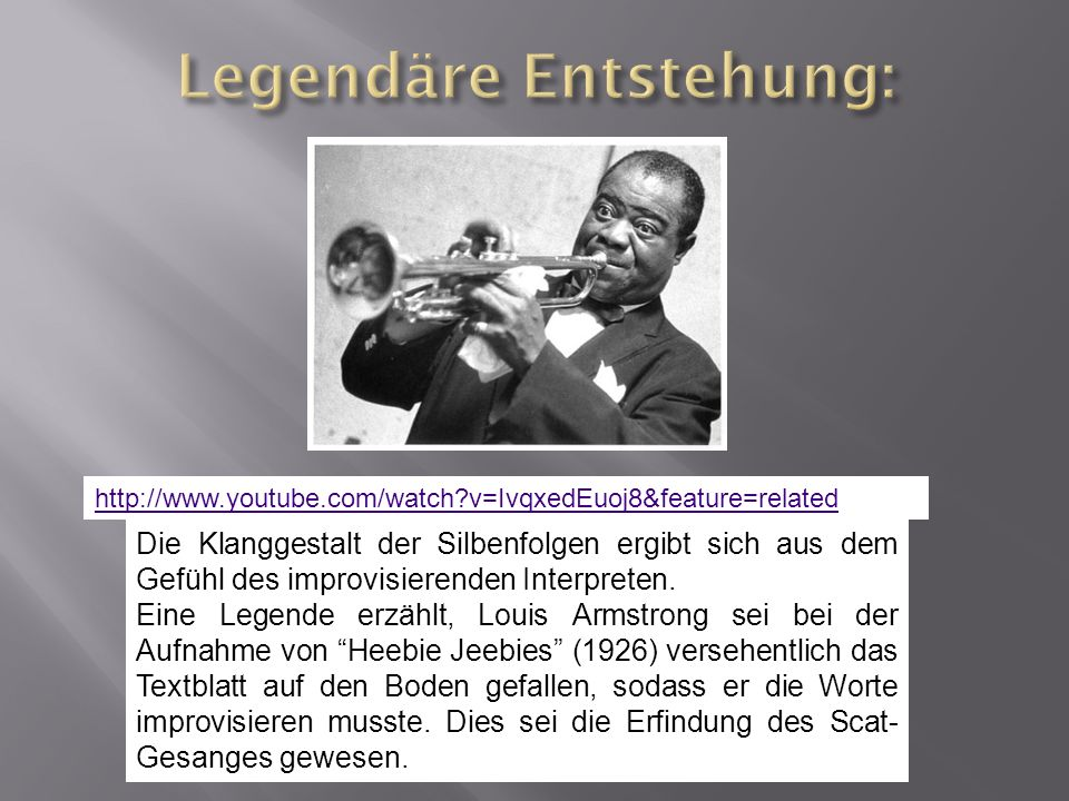 http://www.youtube.com/watch?v=Ul23XKeXYaY&feature=related Dies Singstimme als Imitation eines Instruments: