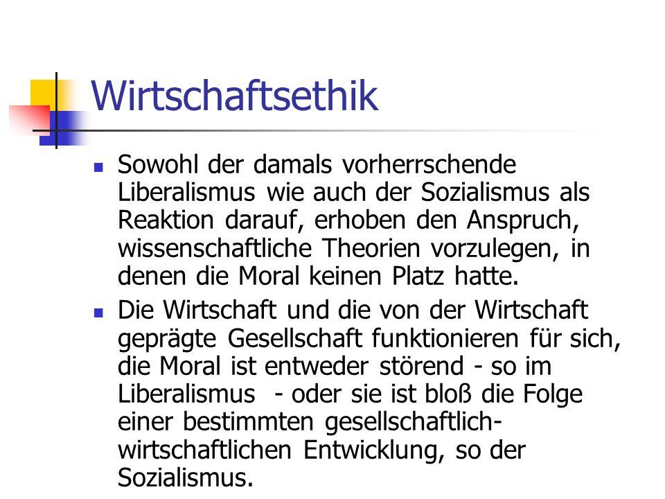 Der Ordoliberalismus Nach dem zweiten Weltkrieg wurden diese Ideen von jedem totalitären Zug gereinigt und konnten sich im Aufbau der bundesdeutschen Wirtschaft durchsetzen.
