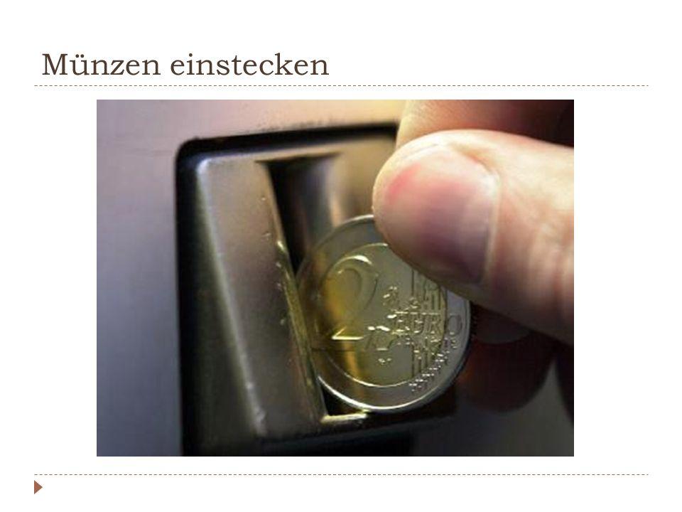 Imperativ.FormBeispiel Du-FormSteck die Münzen ein.