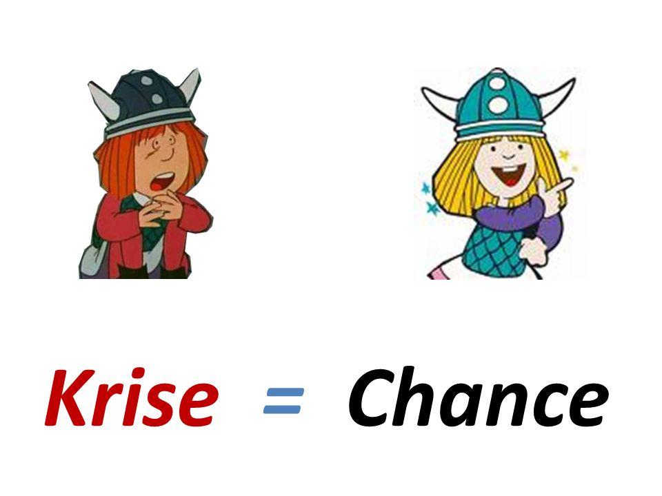 Krise = Chance