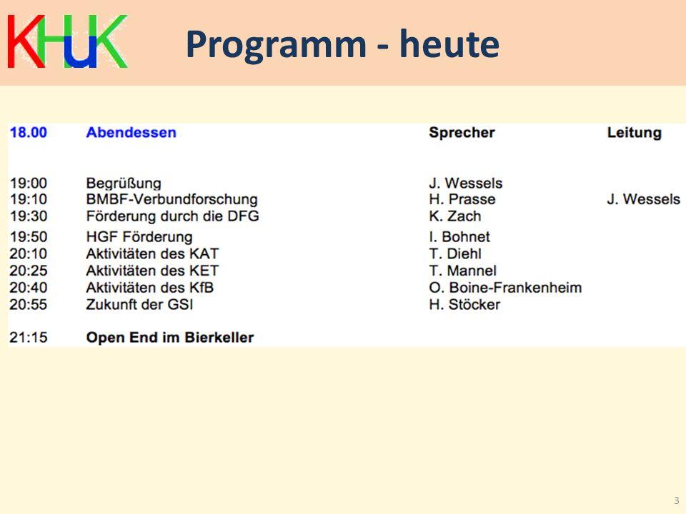 Programm - heute 3
