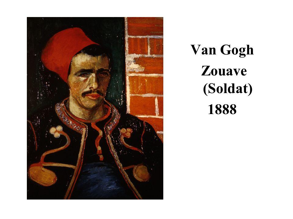 Van Gogh Zouave (Soldat) 1888