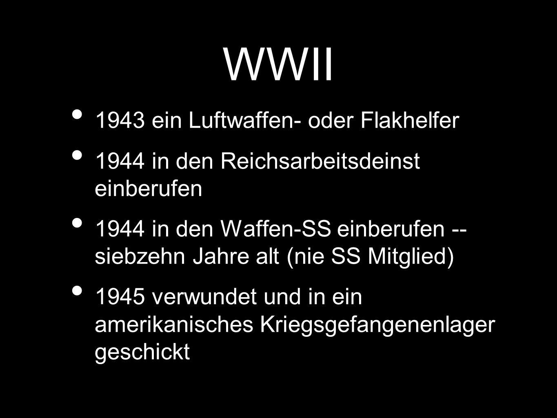 Literatur Die Blechtrommel (1959), Katz und Maus und Hundejahre als Trilogie geschrieben 1999 den Nobelpreis für Literatur Seine Literatur ist historisch -- oft als Vergangenheitsbewältigung gekennzeichtnet.
