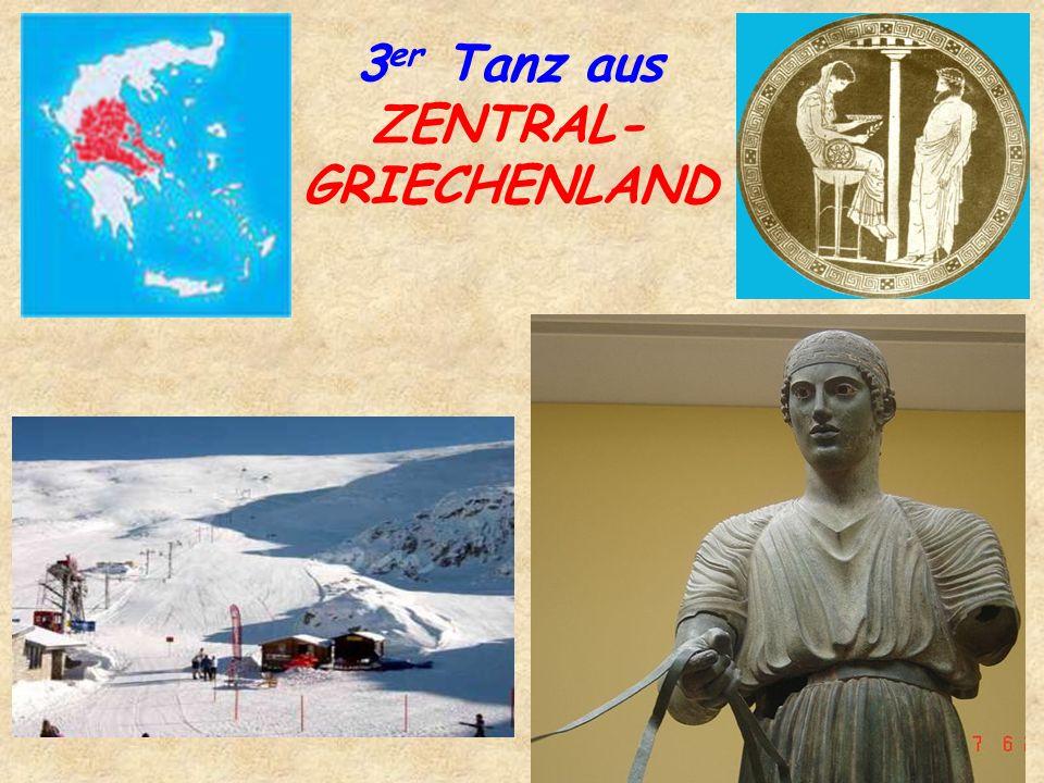 3 er Tanz aus ZENTRAL- GRIECHENLAND