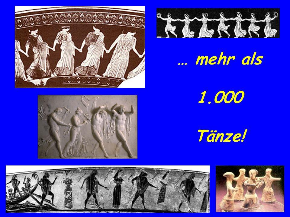 … mehr als 1.000 Tänze!