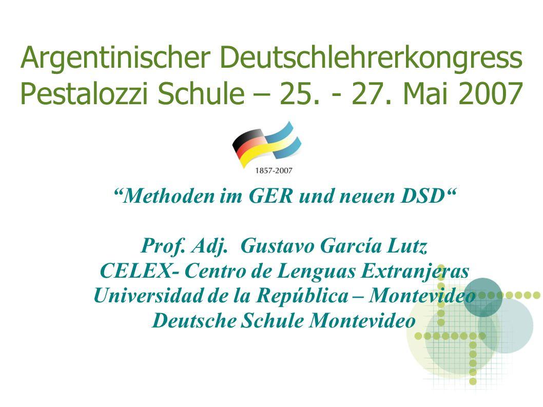 Argentinischer Deutschlehrerkongress Pestalozzi Schule – 25.