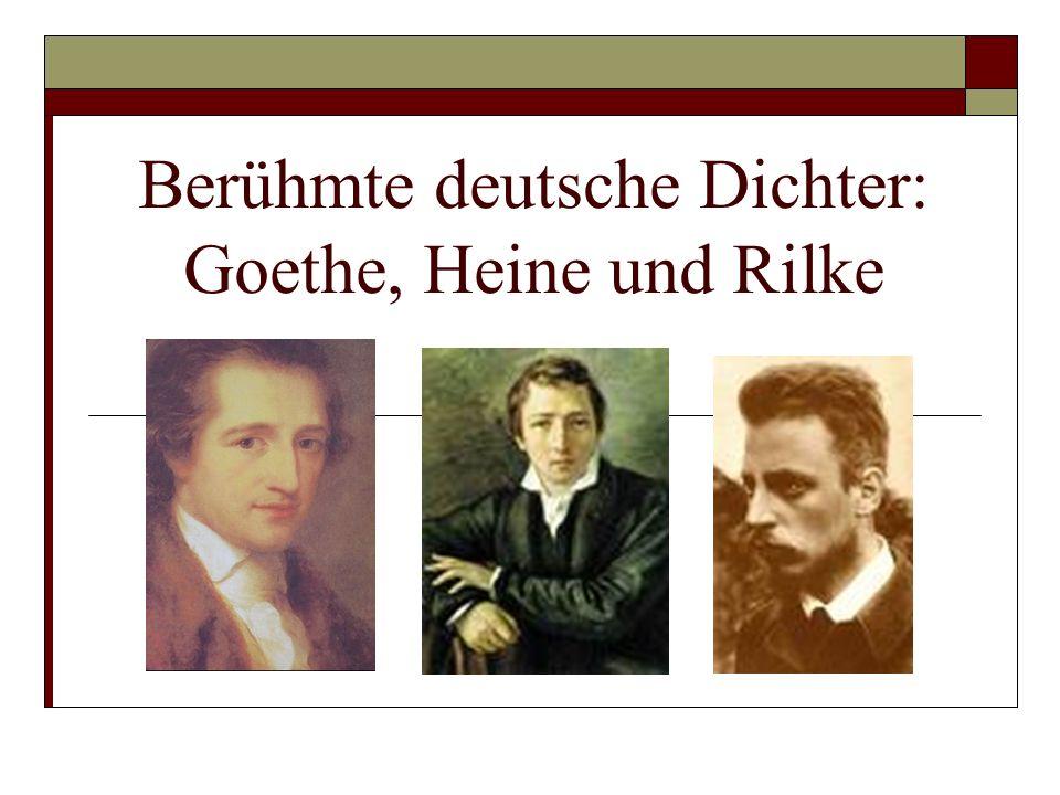 Johann Wolfgang von Goethe Johann Wolfgang von Goethe (1749-1832) (http://real.aischulen.ch/Unterricht/Projekte/Webquest_Loher/Goethe.mp3) (http://real.aischulen.ch/Unterricht/Projekte/Webquest_Loher/Goethe.mp3 Hat mich Europa gelobt, was hat mir Europa gegeben.