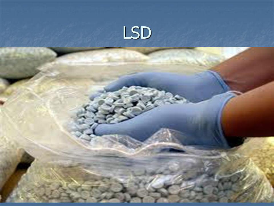 LSD LSD ruft Sinnestäuschungen hervor, die die Wahrnehmung und den Gemütszustand beeinflussen.