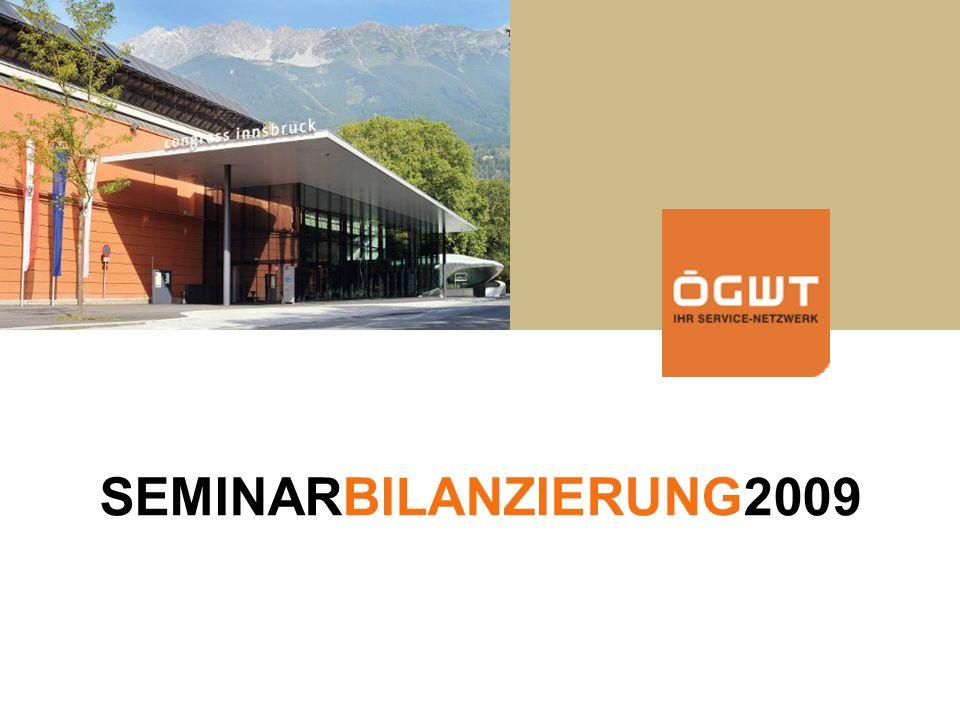 Steuerupdate 2007 SEMINARBILANZIERUNG2009