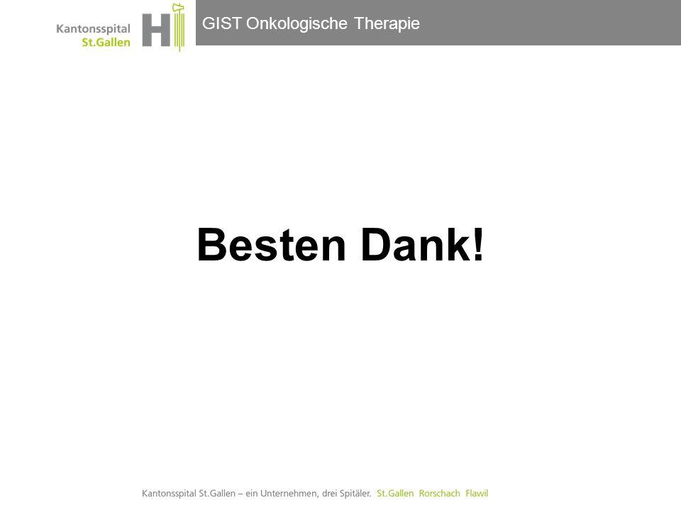 GIST Onkologische Therapie Besten Dank!